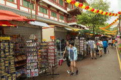 Chinatown in Singapore Royalty Free Stock Photography
