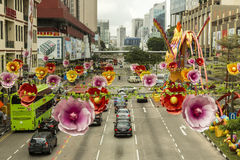 Chinatown in Singapore Royalty Free Stock Image