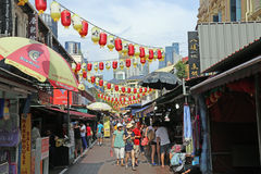 Chinatown in Singapore Stock Photo