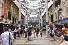 Chinatown in Singapur Stockfotos