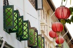 Chinatown Singapur zdjęcie stock