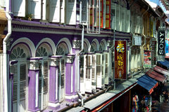 Chinatown, Singapur foto de archivo libre de regalías
