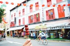 Chinatown, Singapur Zdjęcia Stock