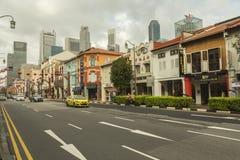 Chinatown in Singapur stockfotografie