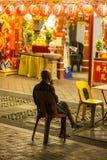 Chinatown in Singapur Stockbild