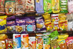 Chinatown Snacks Royalty Free Stock Image