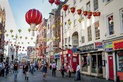 Chinatown, Soho, Londra, Regno Unito fotografia stock