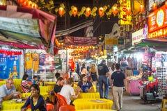Chinatown-Straße von Kuala Lumpur Lizenzfreie Stockfotografie