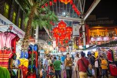 Chinatown Street of Kuala Lumpur Stock Image