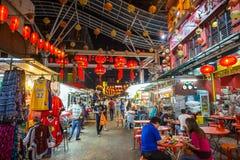 Chinatown Street of Kuala Lumpur Stock Photos