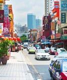 Chinatown street, Kuala Lumpur Royalty Free Stock Image