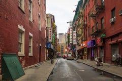 Chinatown Street - New York, USA stock photos