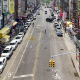 Chinatown Street View in NYC Royalty Free Stock Photography
