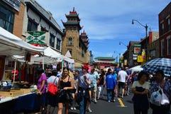 Chinatown Summer Fair - Street Fair royalty free stock photos