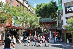 Chinatown, Sydney immagine stock
