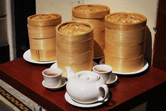 Chinatown tea party Royalty Free Stock Photography