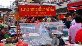 Chinatown Thai Royalty-vrije Stock Fotografie