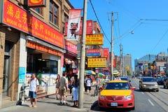 Chinatown Toronto Stock Image