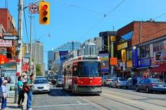 Chinatown Toronto image stock