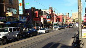 Chinatown Toronto Timelapse 3 stock video footage