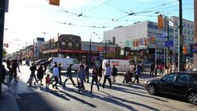 Chinatown Toronto Timelapse 2 stock video footage