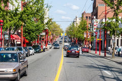 Chinatown in Vancouver, Canada Stock Photos