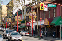 Chinatown in Vancouver, Canada Stock Photography