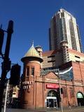 Chinatown vermarktet Gebäude stockfotos