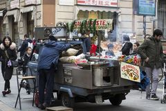 Chinatown-Vibe stockfotografie