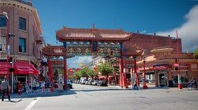 Chinatown, Victoria, Britisch-Columbia, Kanada lizenzfreie stockbilder