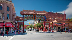 Chinatown, Victoria, British Columbia, Canada Royalty Free Stock Images