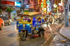 Chinatown w Bangkok, Tajlandia - Obraz Royalty Free