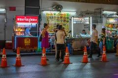 Chinatown w Bangkok, Tajlandia - Obrazy Stock