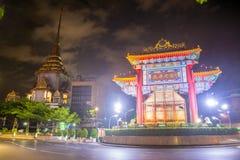 Chinatown w Bangkok, Tajlandia - Zdjęcie Stock