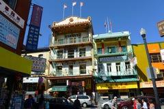 Chinatown w San Fransisco, Kalifornia zdjęcia royalty free