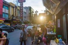Chinatown w Tajlandia Fotografia Stock