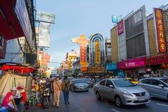 Chinatown w Tajlandia Obrazy Royalty Free