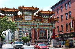 Chinatown, Washington, D.C. Stock Photos