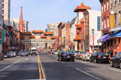 Chinatown Washington DC Stock Image