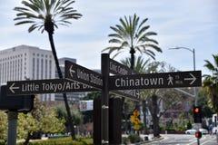 Chinatown Weinig de Straatteken van Tokyo royalty-vrije stock fotografie