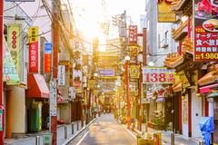 Chinatown Yokohama lizenzfreies stockbild