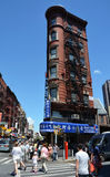 Chinatowndistrict in NYC Stock Fotografie