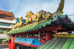 ChinatownKya Kya在苏拉巴亚 图库摄影