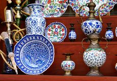 Chinaware. Shop, vase,plate,teapot and etc royalty free stock photos