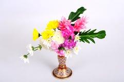 Chinaware med flora Royaltyfria Foton