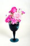 Chinaware met flora Royalty-vrije Stock Afbeelding