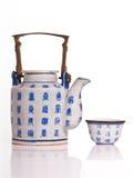 Chinaware teapot Stock Photo