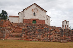 Chinchero church Stock Photography