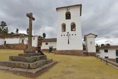 Chinchero, Cuzco, Perú Imagenes de archivo