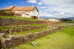 Chinchero, Incan Ruins, Peru Stock Photography